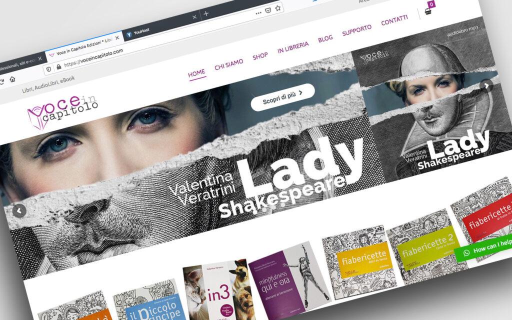 e-commerce per Libri e Audio Libri