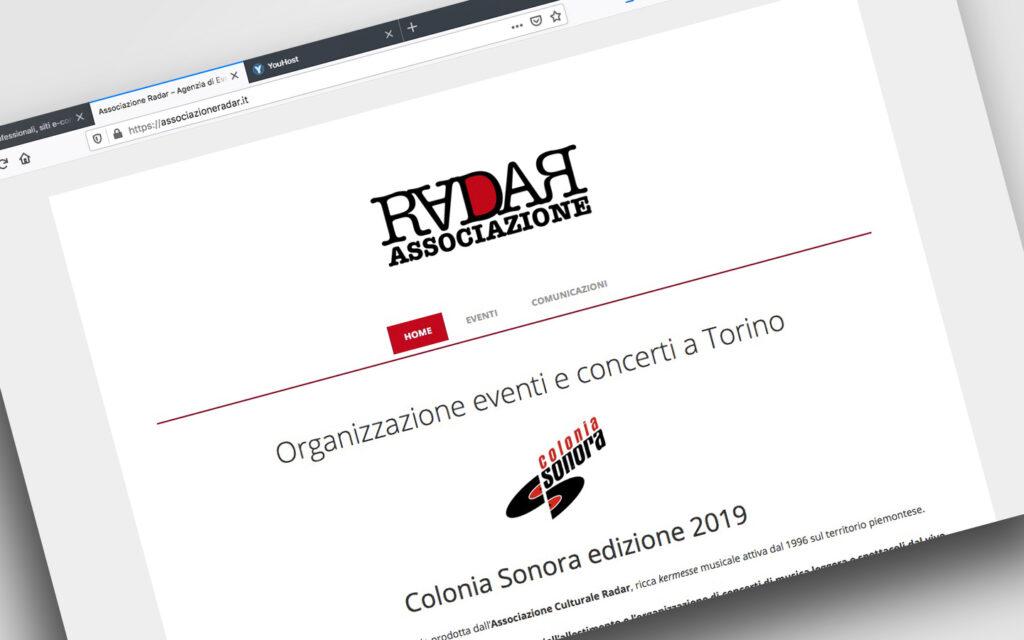Landing Page per Associazioni ed Eventi