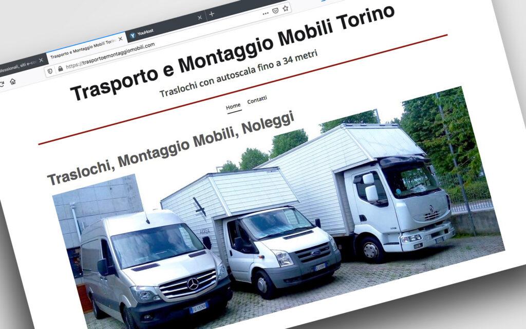 Landing Page per Traslochi e Noleggio