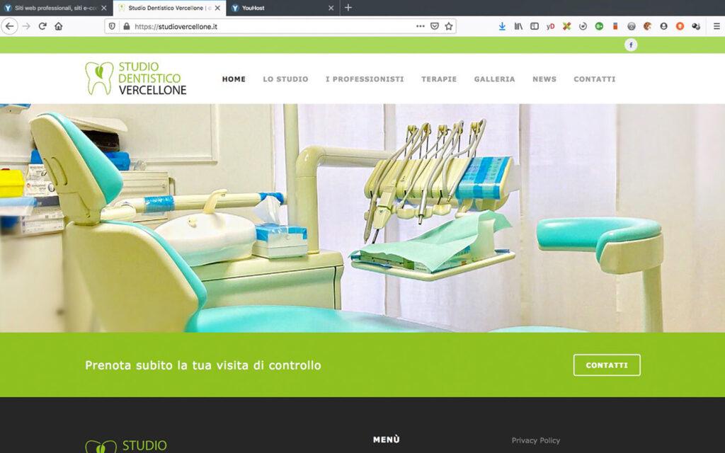 Sito internet Studio Medico Dentistico